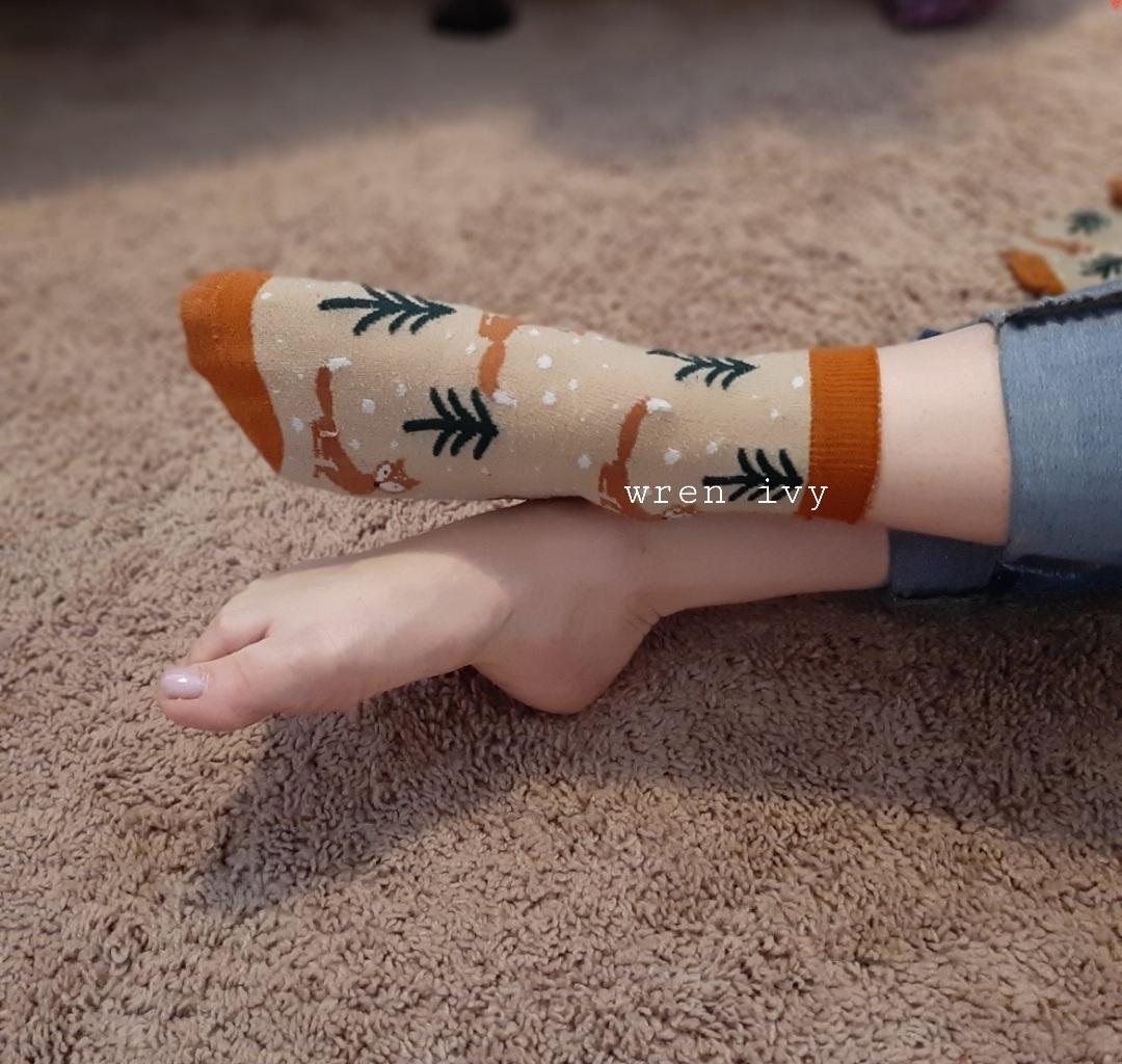 Fox Ankle Socks